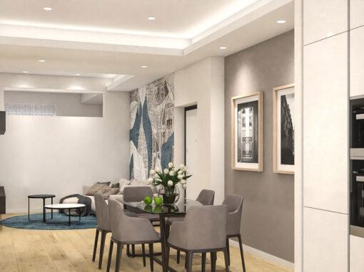 Appartamento in Via San Marino – Torino